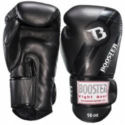 "Boxing Gloves Booster Black ""BGL 1 V3 BLACK FOIL"", Muay Thai, Thai Boxing, Kickboxing, K-1"
