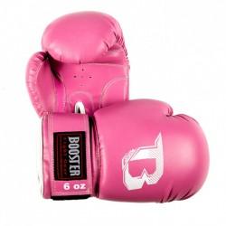 "Gants de Boxe Booster rose ""BT-KIDS PINK"", Muay Thai, Boxe Thai, Kickboxing, K-1"