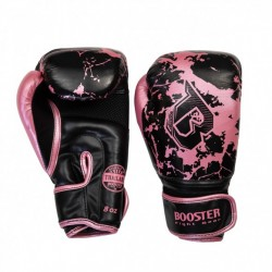 """Boxing Gloves Booster Pink """"BG YOUTH MARBLE PINK"""", Muay Thai, Thai Boxing, Kickboxing, K-1"""