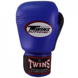 "Boxing Gloves Twins blue and black ""Bgvl 3"", Muay Thai, Thai Boxing, Kickboxing, K-1"