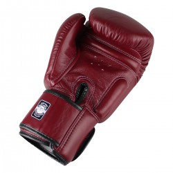 "Boxing Gloves Twins wine red ""Bgvl 3"", Muay Thai, Thai Boxing, Kickboxing, K-1"