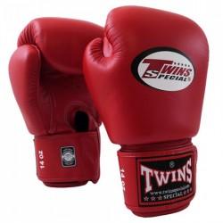 "Gants de Boxe Twins rouge ""Bgvl 3"", Muay Thai, Boxe Thai, Kickboxing, K-1"