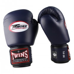 """Gants de Boxe Twins bleu """"Bgvl 3"""", Muay Thai, Boxe Thai, Kickboxing, K-1"""