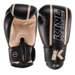 """Gants de Boxe King beige """" KPB/BG ELITE"""", Muay Thai, Boxe Thai, Kickboxing, K-1"""