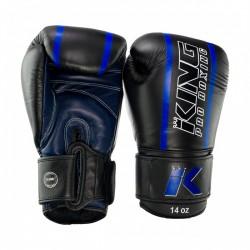 "Boxing Gloves King blue "" KPB/BG ELITE"", Muay Thai, Thai Boxing, Kickboxing, K-1"