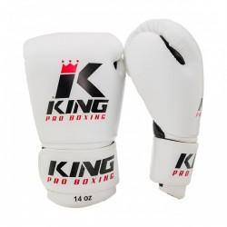 "Boxing Gloves King white "" KPB/BG"", Muay Thai, Thai Boxing, Kickboxing, K-1"