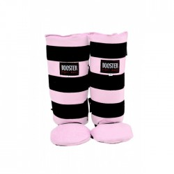 "Protège-tibias Booster rose ""BTSG-2 CURVED PINK"", Muay Thai, Boxe Thai, Kickboxing, K-1"